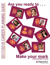 Cover of the Virginia Tech Career Planning Guide