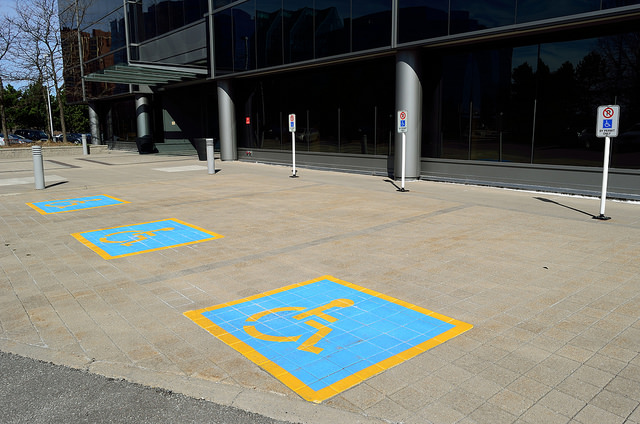 Disabled Parking by Open Grid Scheduler / Grid Engine on Flickr, used under a CC-0 Public Domain license