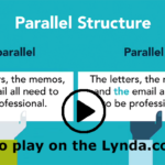 Screenshot of the Parallel Structure video