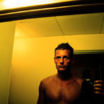 Bathroom mirror selfie. Self Portrait in Barbados by Jens karlsson on Flickr, used under a CC-BY license